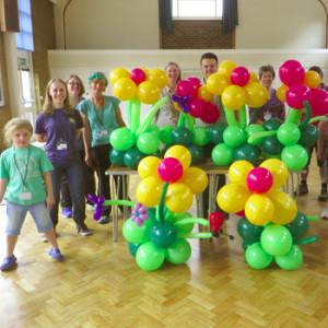 Flower balloon workshop