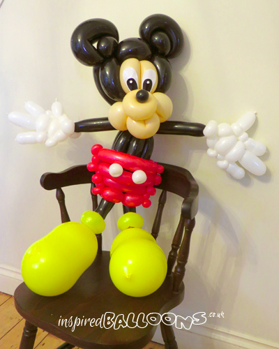 Mickey Mouse balloon sculpture