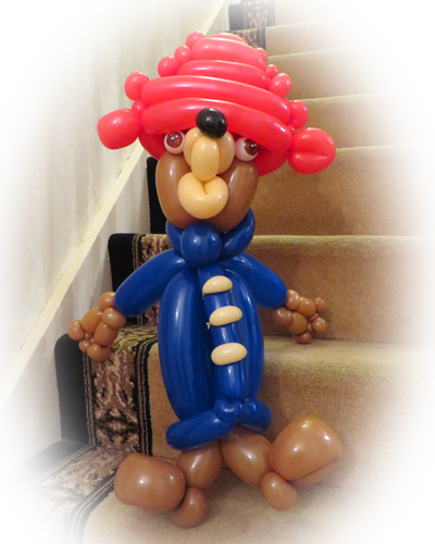 Paddington Bear balloon