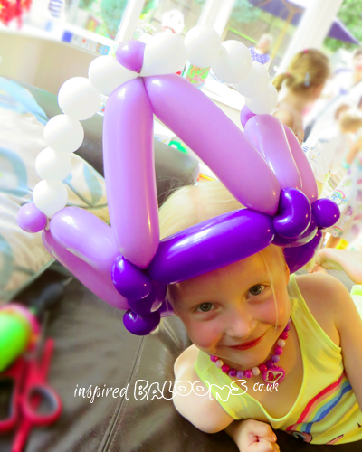 Princess crown balloon