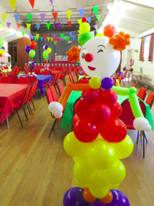 Giant balloon clown