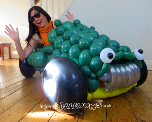 Large balloon car