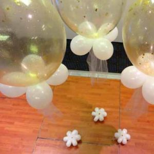 "16"" glitter filled balloon"