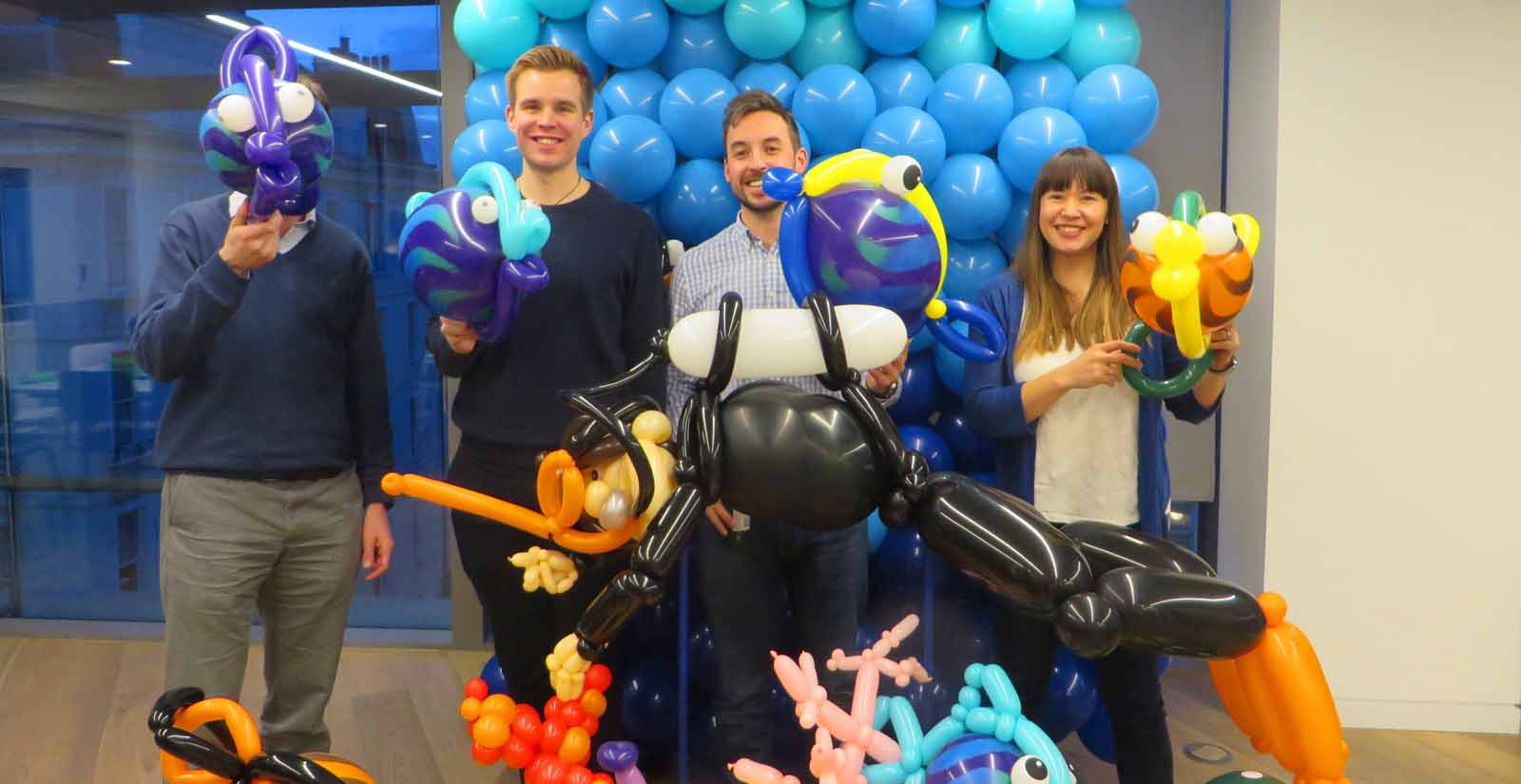 Under the sea balloon workshop